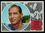 1960 Topps CFL Tobin Rote