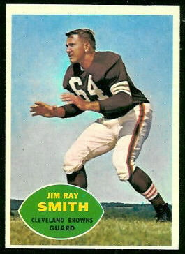 Jim Ray Smith 1960 Topps football card