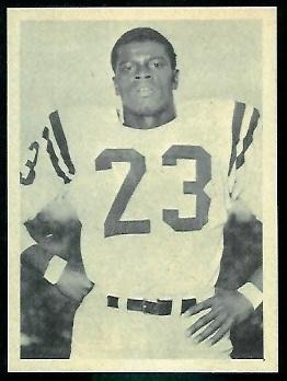 Ray Norton 1961 Fleer Wallet Picture