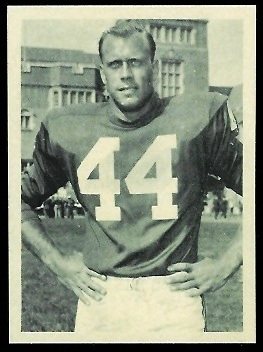 Pete Retzlaff 1961 Fleer Wallet Pictures football card