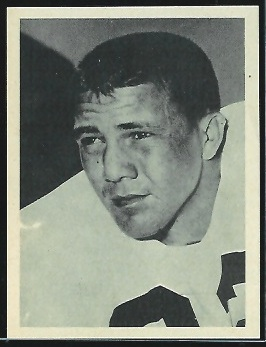 Dave Rolle 1961 Fleer Wallet Pictures football card