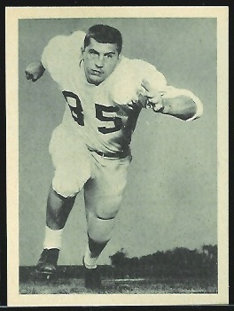 Mack Yoho 1961 Fleer Wallet Pictures football card