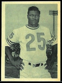 J.C. Caroline 1961 Fleer Wallet Pictures football card