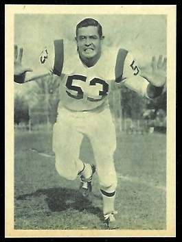 Tommy Addison 1961 Fleer Wallet Pictures football card