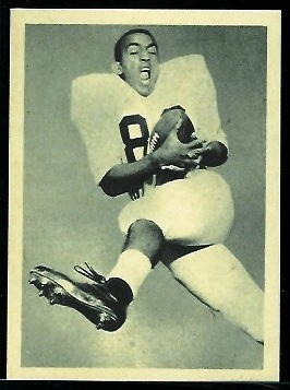 Monte Crockett 1961 Fleer Wallet Pictures football card