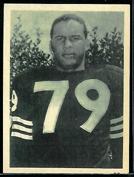 Don Deskins 1961 Fleer Wallet Football Photo