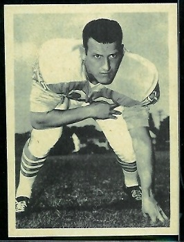 Bill Groman 1961 Fleer Wallet Pictures football card