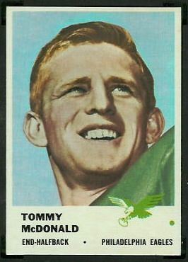 Tommy McDonald 1961 Fleer football card