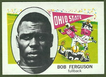 Bob Ferguson 1961 Nu-Card football card