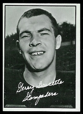 Jerry Doucette 1961 Topps CFL football card