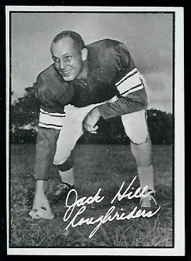 Jack Hill 1961 Topps CFL football card