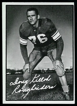 Doug Killoh 1961 Topps CFL football card