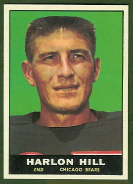 Harlon Hill 1961 Topps football card