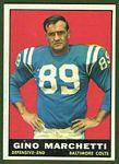 Gino Marchetti 1961 Topps football card