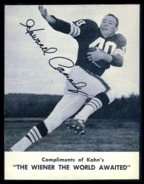 Howard Cassady 1962 Kahns football card