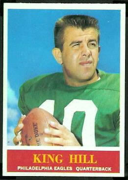 King Hill 1964 Philadelphia football card