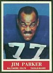 Jim Parker 1964 Philadelphia football card