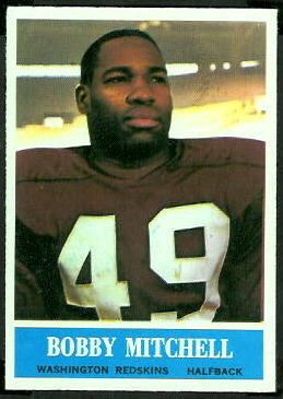 Bobby Mitchell 1964 Philadelphia football card