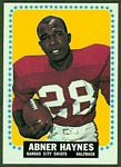 Abner Haynes 1964 Topps football card