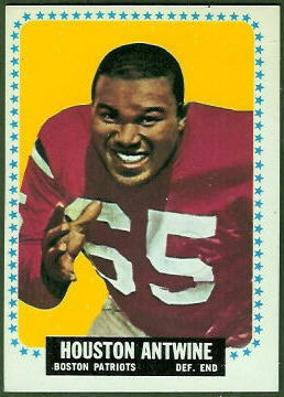Houston Antwine 1964 Topps rookie football card