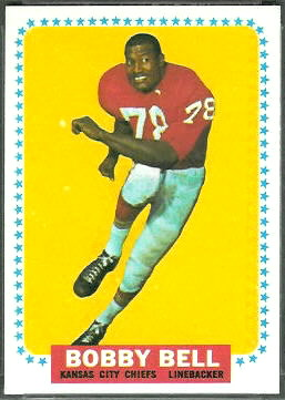Bobby Bell 1964 Topps rookie football card