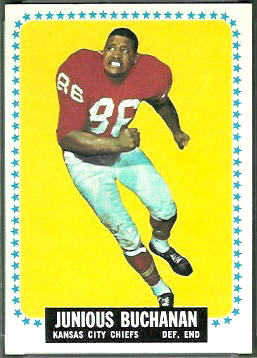 Buck Buchanan 1964 Topps rookie football card