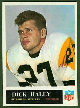 Dick Haley 1965 Philadelphia football card
