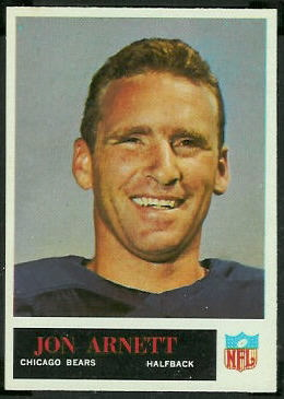 Jon Arnett 1965 Philadelphia football card