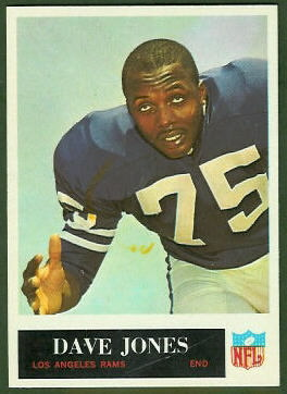 Deacon Jones 1965 Philadelphia football card
