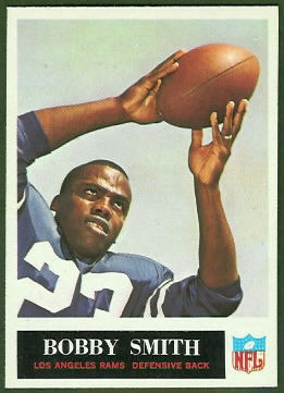 Bobby Smith 1965 Philadelphia football card