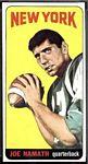 1965 Topps Joe Namath
