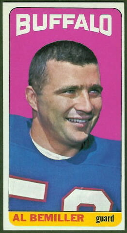 Al Bemiller 1965 Topps football card