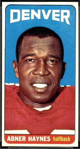 Abner Haynes 1965 Topps football card