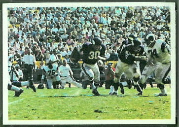 Vikings Play 1966 Philadelphia football card