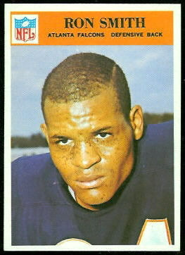 Ron Smith 1966 Philadelphia football card