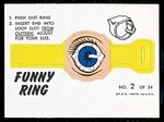 1966 Topps Funny Ring: Bloodshot Eye