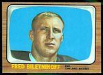 1966 Topps Fred Biletnikoff