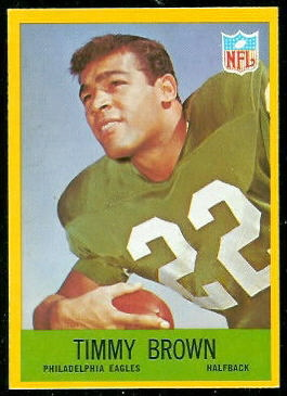 Timmy Brown 1967 Philadelphia football card