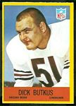 Dick Butkus 1967 Philadelphia football card