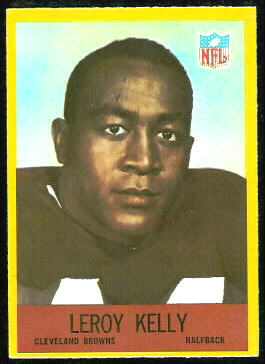 Leroy Kelly 1967 Philadelphia football card
