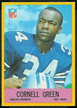 Cornell Green 1967 Philadelphia football card