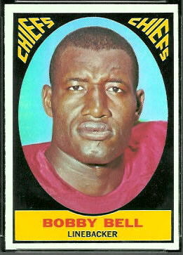Bobby Bell 1967 Topps football card