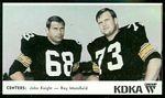 1968 KDKA Steelers Centers