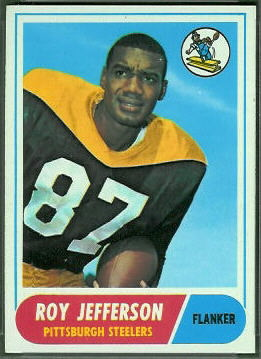 1968 Topps Roy Jefferson football card