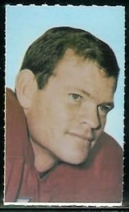 Pete Jaquess 1969 Glendale Stamps football card