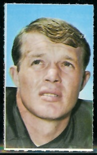 Donny Anderson 1969 Glendale Stamps football card