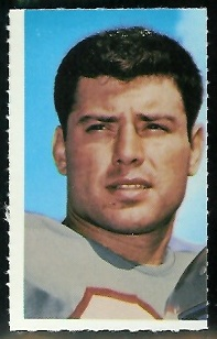 Mac Haik 1969 Glendale Stamps football card