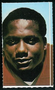 Robert Holmes 1969 Glendale Stamps football card
