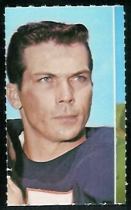 Richie Petitbon 1969 Glendale Stamps football card