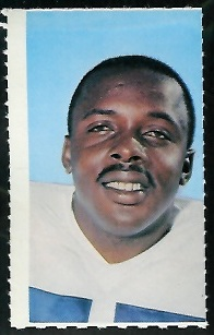 Deacon Jones 1969 Glendale Stamps football card